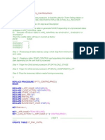 Sample Stored Proc