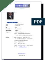 Dr. Raed Falah Khalifa - Medics Index Member Profile