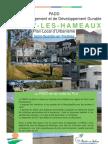PADD de  Magny-les-Hameaux
