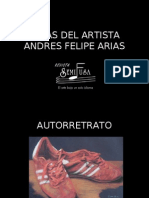 OBRAS DEL ARTISTA ANDRÉS FELIPE ARIAS