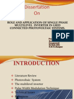 ROLE AND APPLICATION OF SINGLE PHASE MULTILEVEL  INVERTER IN GRID CONNECTED PHOTOVOLTAIC SYSTEMS