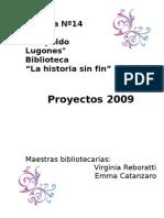 PROYECTO PEDAGOGICO 2009