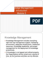 M5- Knowledge Management CKM