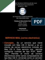 Mac OS X Server Correo