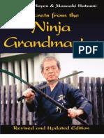 SNG2PDF Secrets From the Ninja Grandmaster Free Sample