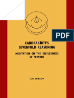 Candrakirti s Sevenfold Reasoning