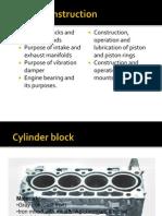 Engine Construction.