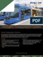 Intelligent Transportation System (ITS) Brochure