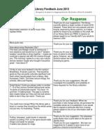June 2013 Frankston Library customer feedback.pdf