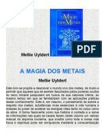 A Magia Dos Metais - Mellie Uyldert