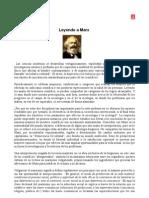 Leyendo a Marx