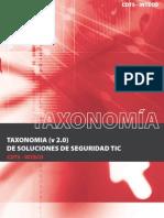 Taxonomía de soluciones de seguridad TIC v2.0