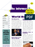 2009 January QELA Student Newsletter
