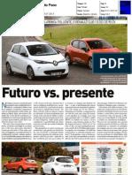 """RENAULT CLIO 1.5 dCi FRENTE AO RENAULT ZOE NA """"AUTO FOCO"""""""