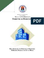 Manila Dormitory Handbook