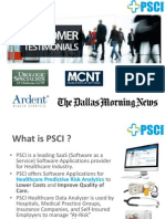 PSCI Customer Testimonial