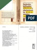 Haciendas, latifundios y plantaciones en América Latina