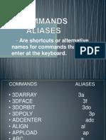 Commands Aliases