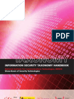 Information Security Taxonomy Handbook