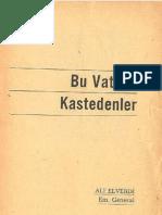 Ali Elverdi - Bu Vatana Kastedenler