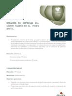 CURSO. CREACIÓN DEL SECTOR MADERA EN EL MUNDO DIGITAL.
