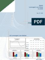 Markit Leveraged Loan Study 1Q09