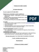 Proiect Educativ! LB. ROMANA