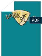 Spice of Life Drinks List June 2013