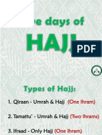 5 Days of Hajj