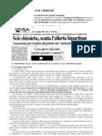 Dossier e Analisi Scie Chimiche