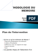 Cours Methode Memoire Nov 2012