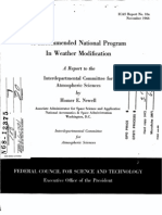 Weather Modification - 1966