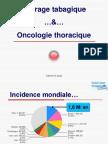 Sevrage tabagique…&…Oncologie thoracique