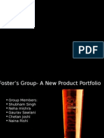 Fosters Beer Ppt