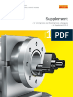 Supplement to Turning Tools and Rotating Tools Catalogues