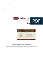 Lib Plus Manual