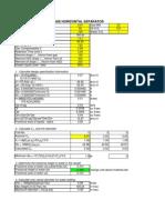 3 Phase Separator spreadsheet