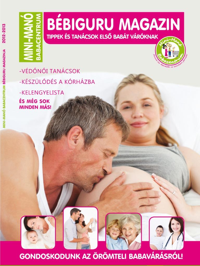 e1700d5445 Mini-Manó Babacentrum 2012-2013-as Bébiguru magazinja!