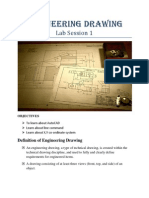 Engineering Drawing Lab1