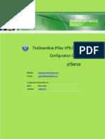 pfSense VPN Router & GreenBow IPSec VPN Client Software Configuration