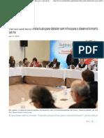 Instituto Lula reúne intelectuais para debater caminhos para o desenvolvimento e integração da América Latina _ Instituto Lula