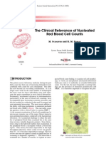 The Clinical Relevance of Nucleated Red Blood Cell Counts