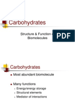 Principles of Biochemistry (Carbohydrates)
