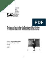 24327019 Profesor Autoritar vs Profesor Facilitator