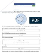 Spherical Trigonometry _ Review
