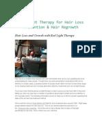 Infrared Untuk Pertumbuhan Rambut