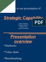Strategic Capability Starbucks