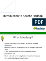 SpringPeople Introduction to Apache Hadoop