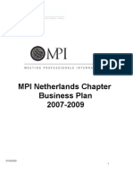 20. MPI Netherlands Chapter Bus Plan - Strat Plan