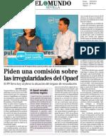 PP PIDE COMISIÓN SOBRE OPAEF